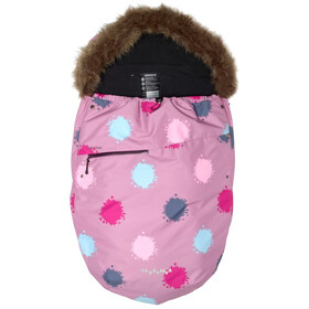 Isbjörn Stroller Bag dustypink globe